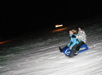 Riding the sledge by night