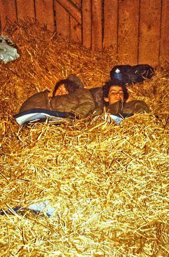 Sleeping In The Straw For One Night