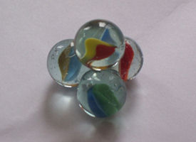 Glass Marble Gyro