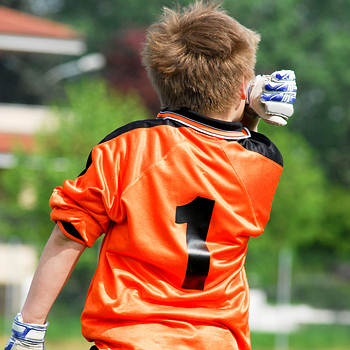 Youth football - the keeper