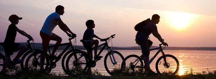 Cycling with children