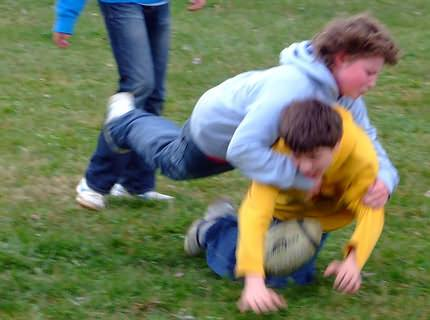 Rugby: one can really exert oneself