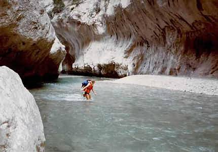 Canyoning im Grand Canyon du Verdon in France